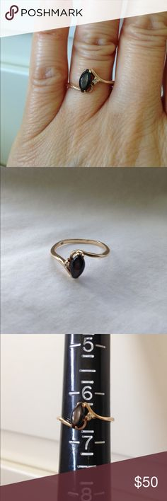 10K Gold Ring 10K Gold Ring. 1.5grams. Size 6 1/2. Believe the stone is Tiger Eye. Jewelry Rings