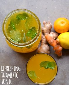 We love drinking this turmeric tonic from Bon Appetit to prevent colds during the holiday season when everyone is sick and in close quarters. The turmeric and ginger give this tonic a slight kick that we love.