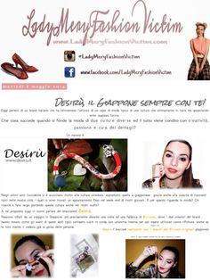 """@Maria Antonietta Ladymeryfashionvictim wears Desirù """"Cherry Bloom"""" made with Swarovski elements. Thanks Ladymery!! (http://www.ladymeryfashionvictim.com/2014/05/desiru-il-giappone-sempre-con-te.html) #bracelets #desirù #desirumilano #desirufriends"""