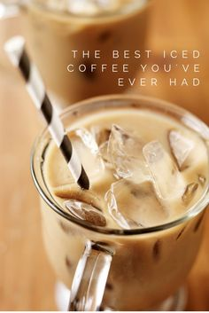 The Best Iced Coffee You've Ever Had