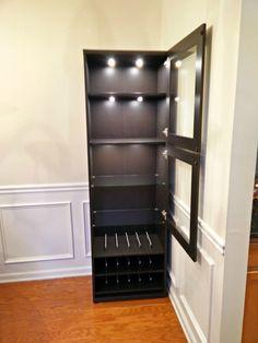 Best Ikea Liquor Cabinet Build Diy Home Bar Home Bar 400 x 300
