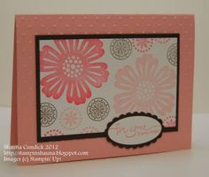 Flowers for You by stampinshauna - Cards and Paper Crafts at Splitcoaststampers
