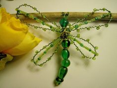 Beaded bugs | Bead Bug Dragonfly