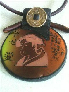 Fimo, pendentif chinois