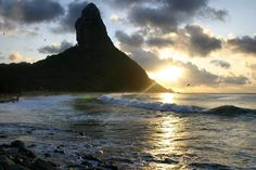 Sunset at Praia da Conceição.  #fen #fernandodenoronha #pernambuco #praiadaconceicao #traveling #traveler #traveller #travellers #travel #viajar #photographers #instatravel #travelgram #instasurf #surf #surfpics #photography #canon #canonphotography #brazil #canon_photos #sunset #picoftheday #picture_to_keep #photooftheday #photosoftheday #wonderful_places #beautifuldestinations #discoverglobe #lonelyplanet by ana.marmo