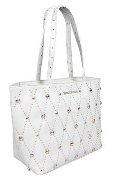 acd525127e Versace EE1VTBBE1 E807 Light Grey Tote Bag