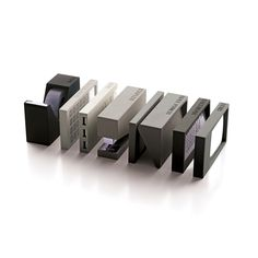 7-Pc. Productivity Set - Grey   This Productivity Set leaves no page unread, no two pieces of paper unstapled. Complete with a tape dispenser, calculator, USB hub, stapler, hole puncher, calendar, and magnifying lens, the 7-piece set lets you get things done in sleek, minimalist style.