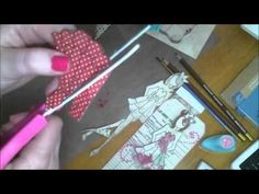 Prima Doll Stamp process video