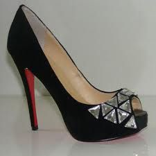 highfashiondress.... Complete your look with designer #shoes from #Christian Louboutin #shoes