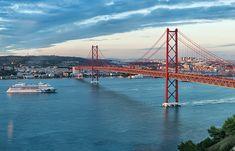 Ponte 25 de Abril, Lisboa - Almada (Margem Sul)