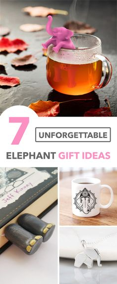 Elephant gift ideas: unique gift ideas for the elephant lover in your life. Majestic Animals, Elephant Gifts, Elephants, Unique Gifts, Christmas Gifts, Gift Ideas, Table Decorations, Life, Original Gifts
