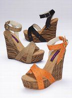 I love wedges almost as much as I love boots!
