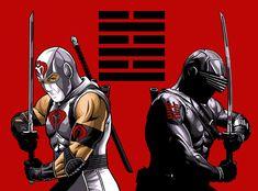 Rogue Comics, War Comics, Arte Ninja, Ninja Art, Snake Eyes Gi Joe, Eagle Wallpaper, Marvel Wallpaper, Gi Joe Storm Shadow, Snake Eyes