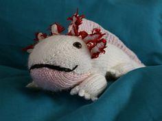 Ravelry: Axolotl aka Mud puppy pattern by Rochelle McEvoy