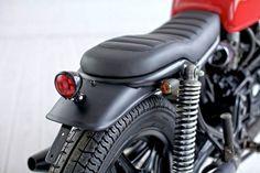 Riverside Projects - the Bike Shed Suzuki Cafe Racer, Yamaha Cafe Racer, Honda Scrambler, Motorcycle Equipment, Retro Motorcycle, Motorcycle Style, Cafe Racer Parts, Cafe Racer Seat, Brat Cafe