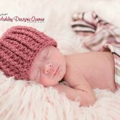 Hope Beanie (Newborn - Adult) - via @Craftsy