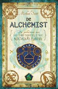 The Alchemist by Michael Scott...Joshua and Sarah discover they have magic powers and help Nicholas Flamel defeat John Dee and The Elders from taking over earth and stopping the darkness from uprising.