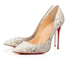 Shoes - Pigalle Follies Python Light - Christian Louboutin