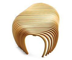 Ribs Bench for Sidney Opera Hall by DesignByThem