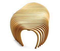 Ribs Bench for Sidney Opera Hall by DesignByThem