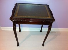 Elegant Coffee / Occasional / Side Table. Pre 1970's. Bevelled Glass top.