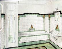 dolls house printable bathroom tiles