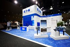 Eaton exhibition stand designed and constructed by Expocentric. expocentric.com.au