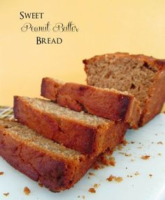 Sweet Peanut Butter Bread    by cinnamonspiceandeverythingnice  #Bread  #PeanutButter