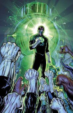 onegeeksblog:    Green Lantern #21 - Billy Tan