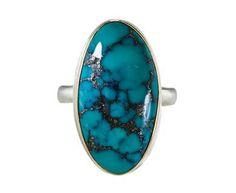 Jamie Joseph - Mongolian Turquoise Ring in Rings Stones at TWISTonline