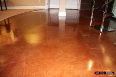 Your #concrete floors can look like this too! Give us a call and ask about acid stain finishes. (440) 937-4457