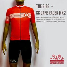"""www.shop.redwhite.cc    @stolen_goat_cycling The SS Cafe Racer Mk2 Jersey beautifully pairs with our flagship long distance bibshort """"The BIBS"""". We are now shipping Stolen Goat jerseys and several sizes are already running out. Head on over to our webstore to get your hands on them. www.shop.redwhite.cc #redwhiteapparel #completethekit #wymtm #outsideisfree #roadcycling #cycling #fromwhereiride #notabeachroad #igerscycling #instabike #strava #stravacycling #stravaproveit #kitspo #newkitday"""