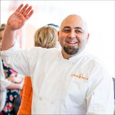 "We asked Duff Goldman, what's your favorite food beside #cake? Duff said: ""Either Peking duck or soft-boiled eggs with salt and hot sauce."" #DuffDay"