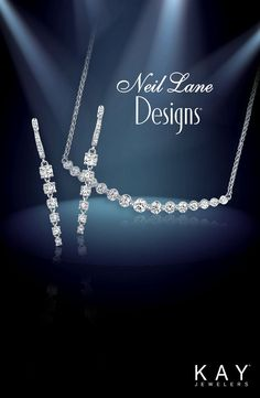 From the red carpet to your wedding day, Neil Lane brings his Hollywood-inspired diamond necklace and earring styles straight to you. Wedding Looks, Perfect Wedding, Wedding Day, Wedding Jewellery Inspiration, Wedding Jewelry, Fashion Earrings, Fashion Jewelry, Neil Lane, Kay Jewelers
