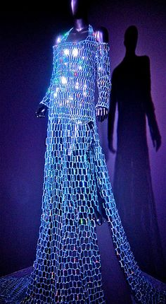 """Queen of the Night Costume by Romeo Gigli for The Magic Flute..from Annenberg Center """"Theatre in Fashion"""" exhibit"""