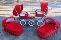 "Emmaljunga Twin ""Baby Bus"" - huge, impractical but cool as heck ;p"