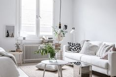 Studio apartment in light neutral colors