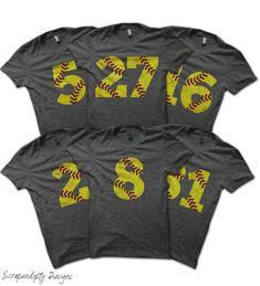 Softball Shirt Bundle Softball Mom Shirt by ScrapendipityDesigns