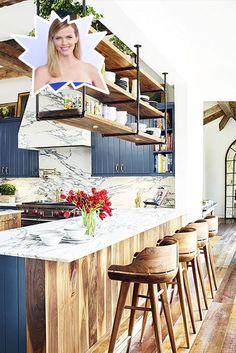 Brooklyn Decker - Stunning Celebrity Kitchens - Photos