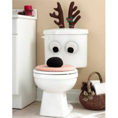 @Kris Montgomery...this would go well with your Santa toilet cover