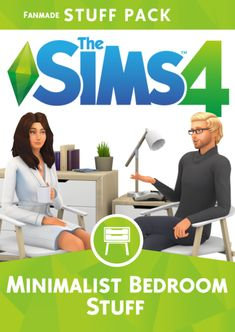 """Hi guys, mini-reveal time! Minimalist Bedroom Fanmade Stuff Pack If you've been paying attention at the start of the year, I had mentioned I was working on a """"Modern Bedroom"""" CC Pack all the way back. Sims 4 Game Packs, The Sims 4 Packs, Maxis, Los Sims 4 Mods, Sims 4 Game Mods, Diy Tumblr, Sims 4 Add Ons, Sims 4 Expansions, Pelo Sims"""
