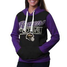 Amazon.com: NFL Baltimore Ravens Ladies Divisional Pullover Hoodie - Black: Clothing
