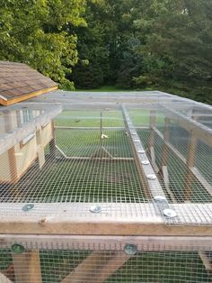 Chicken Coop - [​IMG] Building a chicken coop does not have to be tricky nor does it have to set you back a ton of scratch. Portable Chicken Coop, Backyard Chicken Coops, Diy Chicken Coop, Chickens Backyard, Backyard Farming, Large Chicken Coop Plans, Inside Chicken Coop, Chicken Coop Pallets, Chicken Barn