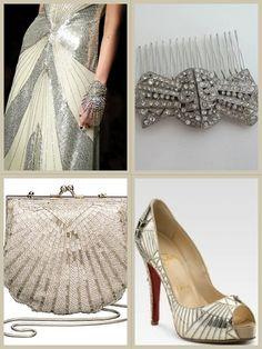 Noiva Great Gastby – A inspiração | Noivinhas de Luxo  Post completo: http://noivinhasdeluxo.com.br/post/noiva-great-gastby-a-inspiracao