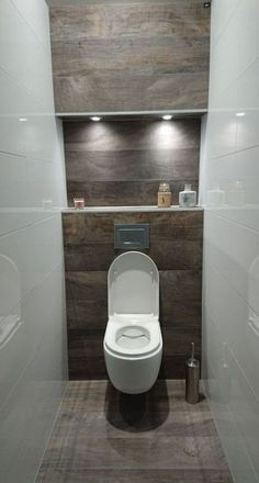 dreamy wc toilet in bathroom ideas for you waaaw 45 Dreamy wc toilet in bathroom ideas for you waaaw 45 badezimmerideen Small Downstairs Toilet, Small Toilet Room, Small Bathroom, Bathroom Ideas, Guest Toilet, Half Bathrooms, Cloakroom Ideas, Bathroom Crafts, Bathroom Renovations