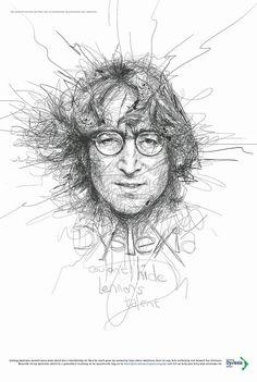 John Lennon by Vince Low