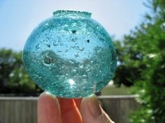 Exciting hunt for glass fishing floats, colorful photos... Read more: http://www.odysseyseaglass.com/glass-fishing-floats.html