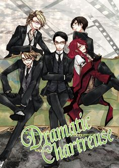 Shinigami William T. Spears Grell Sutcliff Ronald Knox Eric Slingby Alan Humphries