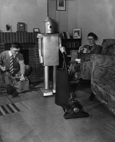 Early Roomba Prototype.