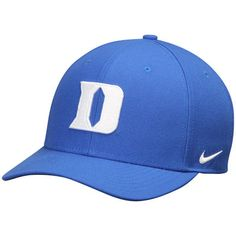 quality design 7a6eb 485ea Duke Blue Devils Nike Wool Classic Performance Adjustable Hat - Royal